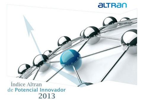 Barómetros, índices y scoreboards de innovación II (Indice Altran 2013 de potencial innovador)